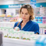 Lista de produtos mais vendidos em farmácias